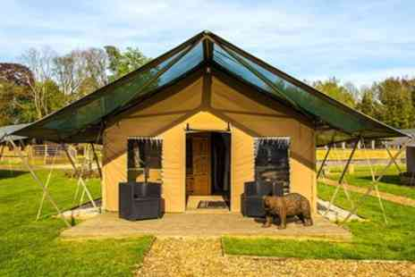 Howletts and Port Lympne Estates - Two Night Glamping Stay - Save 42%