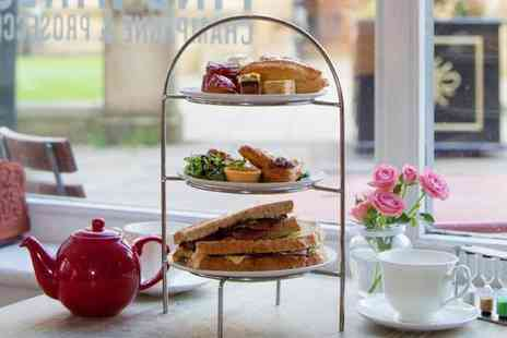 Proper Tea - Sparkling afternoon tea for two - Save 48%