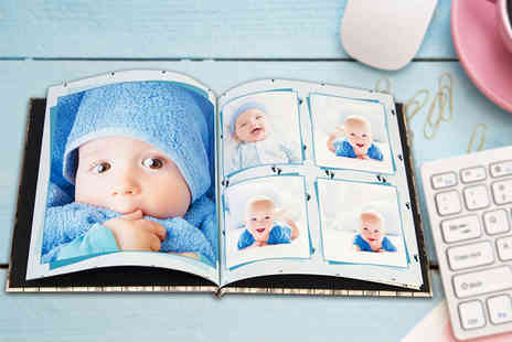 Unibind Photo Books - 21cm x 21cm square hardback photobook choose a 20, 40, 80 or 100 page collection - Save 67%