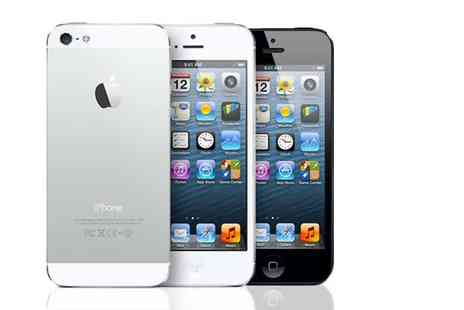Renew Electronics - iPhone 5 16GB or 32GB model select from black or white designs - Save 0%