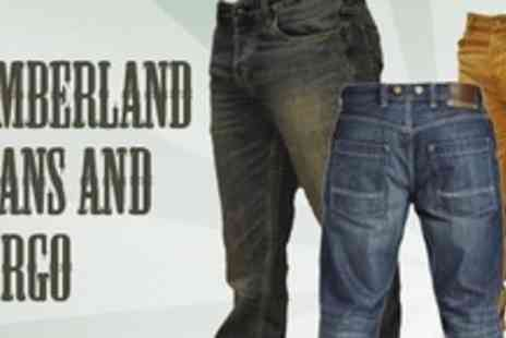 Born on the Streets - Two Pairs Of Timberland Jeans - Save 65%