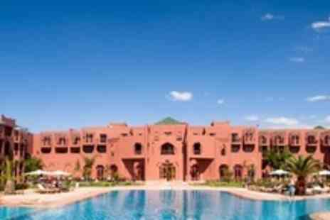 Palm Plaza Hotel - In Marrakech Two Night Half Board Stay For Two With Hammam Treatment - Save 33%