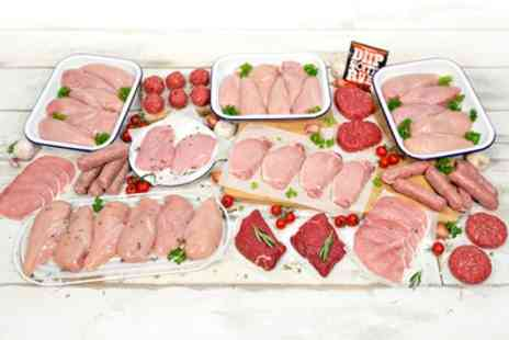 Muscle Foods - 35 or 65 Piece MuscleFood Lean Meat Hamper - Save 46%