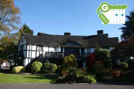 The Thatchers Hotel - Surrey Stay for Two with Breakfast and Wine - Save 48%