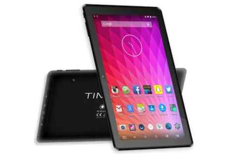 Groupon Goods Global GmbH - Time2Touch TC1051G 10.1 InchTablet with Optional 16GB Micro SD Memory Card  - Save 0%