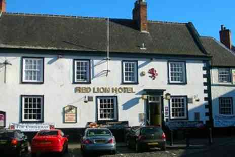 Red Lion Coaching Inn - One or Two Nights Stay for Two with Wine and Option for Steak Dinner - Save 0%