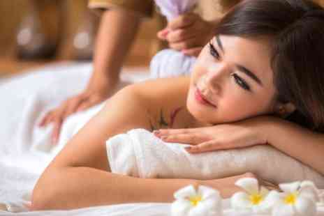 Maple Salon - One Hour Thai Oil Massage with Optional Reflexology or Cupping - Save 54%