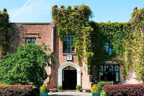 Crabwall Manor Hotel - Chester Spa Day with 2 Treatments, Afternoon Tea & Fizz - Save 53%