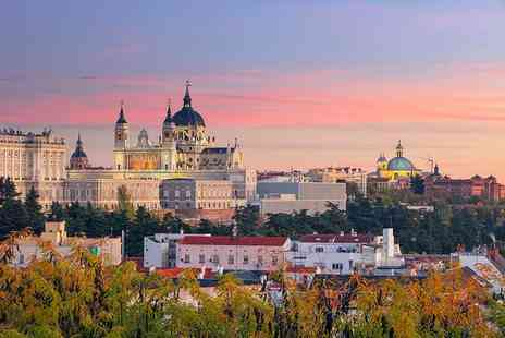 Tour Center - Two or Three night Madrid break with flights - Save 60%