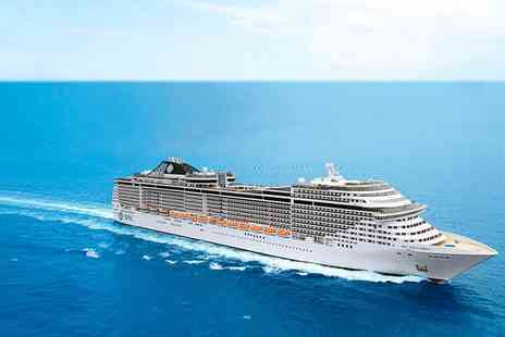 Tour Center - Two night Mediterranean full board cruise - Save 45%