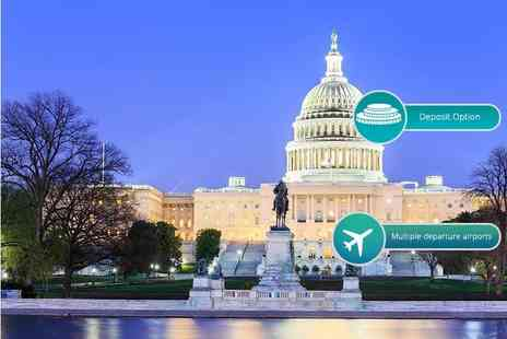 Weekender Breaks - Six or Eight night New York and Washington trip including flights - Save 50%