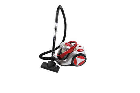 Who Needs Shops - Heavy duty cyclonic vacuum cleaner - Save 73%