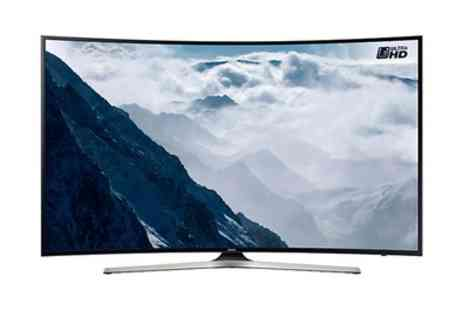 Groupon Goods Global GmbH - Samsung Smart 4K Ultra HD HDR 40 Inch, 49 Inch or 55 Inch Curved Led Tv - Save 11%