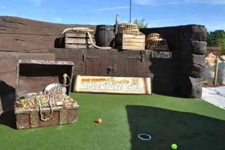 Time Raiders Pirate Adventure Golf - Adventure Golf for Two or Four - Save 46%