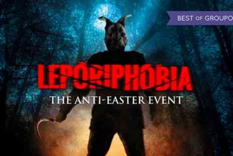 The London Bridge Experience - One ticket to London Tombs Leporiphobia  Night of the Killer Rabbit On 13 To 15 April - Save 50%