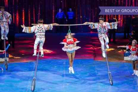 Planet Circus - One child, adult or family of four ticket to Planet Circus Eccles on 19 To 23 April - Save 0%
