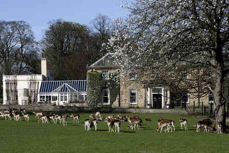 Whitworth Hall Hotel - Three Star Grade II Listed House in a Durham deer park - Save 0%