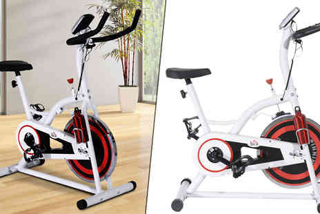 MHStar Uk - Indoor Magnetic Exercise Bike - Save 0%