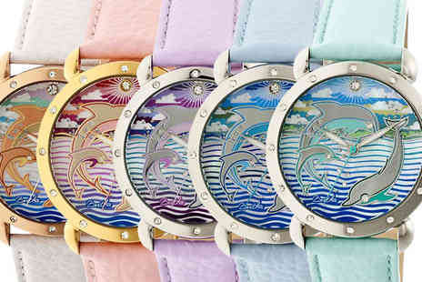 Ideal Deal - Bertha Estella Mother of Pearl Watch in 5 Colours - Save 91%