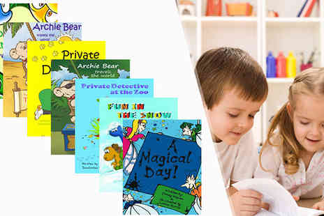 The Lemon Tree Book Company - 7 Stories of Kids Personalised Storybook Bundle - Save 29%