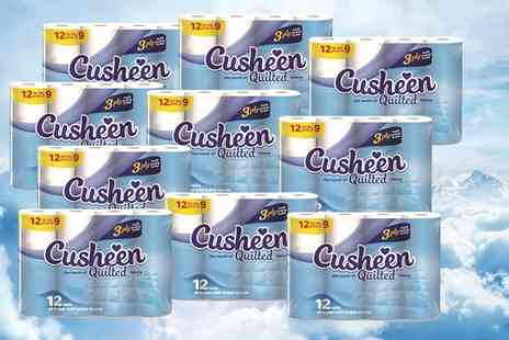 Parcel Monsters - One year supply of Cusheen toilet roll - Save 54%