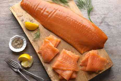 Campbells Prime Meat - Fish box including cod portions, salmon fillets, angel haddock fillets and more - Save 50%