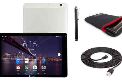 Groupon Goods Global GmbH - 10 Inch IPS HD Quadcore 16GB Android Internal 3G Tablet PC with Accessories Option - Save 60%