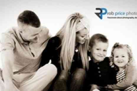 Rob Price Photography - Family or Makeover Photo Shoot With Fashion or Boudoir Pictures - Save 94%