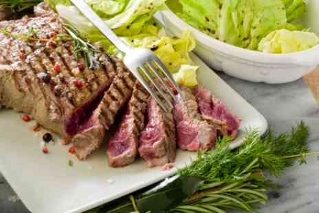Hilton Garden Inn - Sirloin Steak Meal for Two or Four - Save 52%
