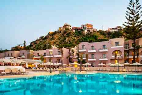 Clear Sky Holidays - Up to 7 Night All Inclusive Stay at 4 Star Porto Platanias Village Resort with Return Flights - Save 0%
