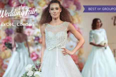 The Wedding Fair - One or two tickets to The Wedding Fair with a magazine On 8 To 9 April - Save 35%