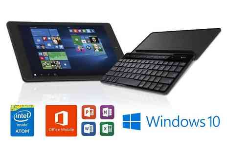 Laptop Outlet -  Windows 10 tablet include a keyboard - Save 59%