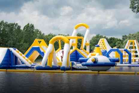 Liquid Leisure - Aqua Park Entrance for Up to Four - Save 32%