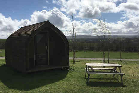Meadow Falls Ingleton - One to Three Night Glamping Pod Stay For 2 to 4 Guests - Save 22%