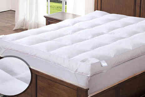 Fusion - Feather and Down Mattress Topper Four Sizes - Save 0%