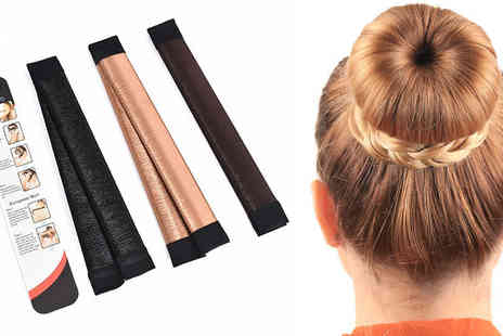 Orchid Deal - Hair Styling Donut Three Colours - Save 0%