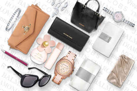 Wowcher Direct - Mystery luxury accessory deal Vivienne Westwood, Michael Kors, Christian Dior, Swarovski, Hot Diamonds, Balmain and more - Save 0%