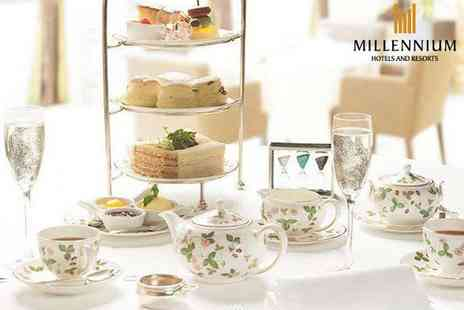 Copthorne Hotel - Spring afternoon tea with Prosecco for two people - Save 52%