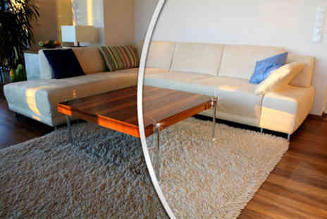 Homefresh Cleaning - Carpet cleaning service in two rooms up to 5m x 4m each - Save 36%