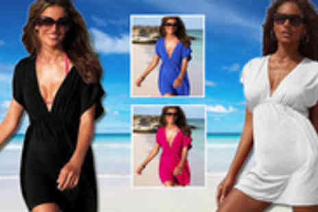 Silicon17 - Chic and sexi summer sarong dress. Strike a sizzling hot summer look, and revel - Save 67%