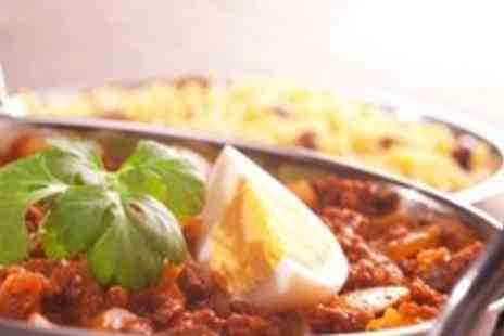 Bombay Brasserie - Indian Meal for 2 including Poppadums, Main Course and Rice - Save 60%