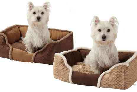 Groupon Goods Global GmbH - Bunty Kensington Dog Bed in Choice of Size and Colour - Save 25%