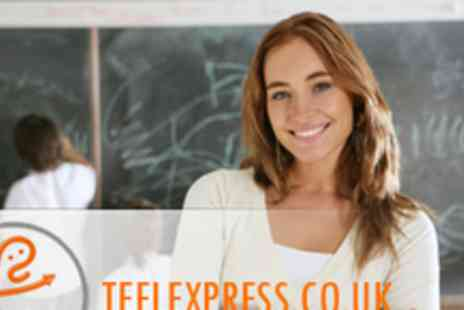 TEFL Express - 120-Hour Online TEFL Course Now You Can Teach English As A Foreign Language - Save 82%