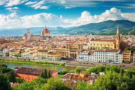 Weekender Breaks - Two or three night 3 or four Star Florence stay with breakfast and flights - Save 31%