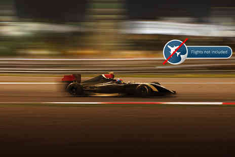 Independent World Choice Holidays - Three night stay and Sunday General Admission ticket to the Formula 1 Grand Prix - Save 0%