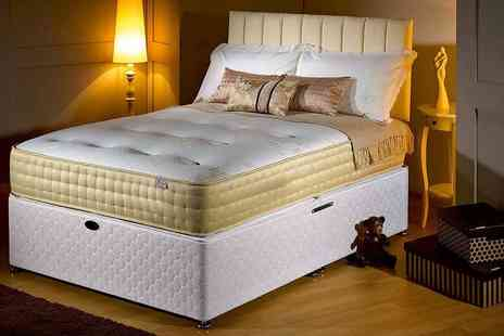 The Sleep People - Single luxury memory foam gold mattress - Save 89%