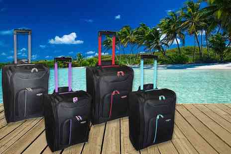 Pearl Info - Cabin size approved travel suitcase - Save 79%