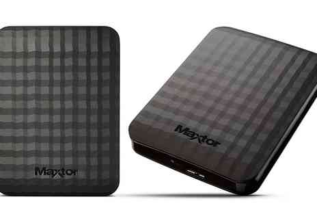 Groupon Goods Global GmbH - Seagate Maxtor M3 Portable Hard Drive 500GB To 4TB - Save 18%