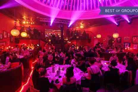 Proud Cabaret Brighton - Entry to a cabaret show with a three course dinner and a glass of Prosecco for one - Save 60%
