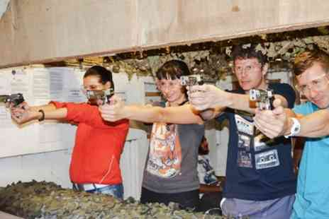 3xtreme - Outdoor Adventure Day with Clay Pigeon Shooting and Target Practice with Various Guns - Save 0%